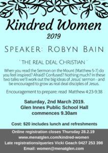 Kindred Women 2019 – Men@Glen